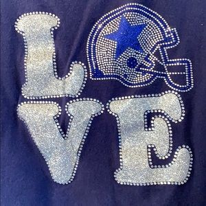 Dallas Cowboys love ❤️ t-shirt
